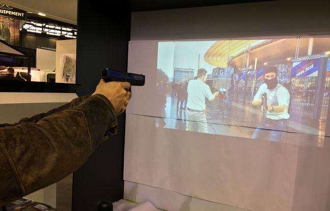 EVA, première station d'entrainement au tir à balles réelles