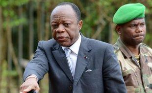 Le Général Jean-Marie Michel Mokoko le 7 mai 2014 à Bangui