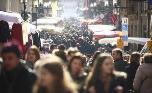Illustration d'une foule.