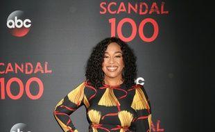 La productrice Shonda Rhimes à la 100e de la série Scandal