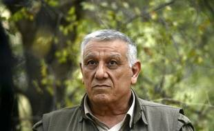 Cemil Bayik, chef militaire du Parti des travailleurs du Kurdistan, le 6 octobre 2015, dans le nord du Kurdistan irakien