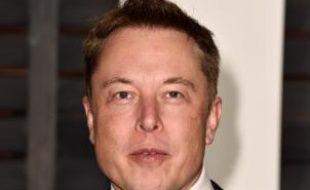 Elon Musk, le PDG de Tesla, le 22 février 2015 à Beverly Hills