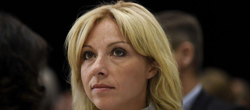 Florence Portelli, candidate à la présidence du parti Les Républicains, maire LR de Taverny, le 2 septembre 2017 à Nantes