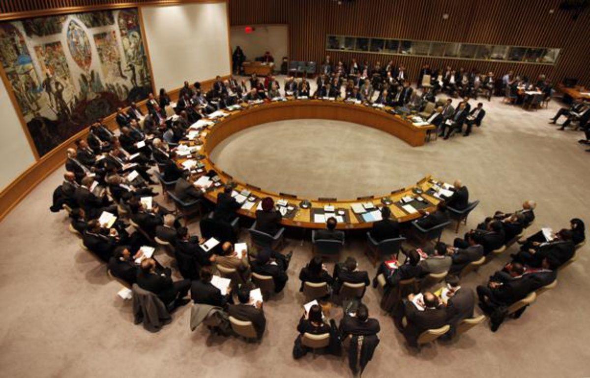 Le Conseil de sécurité des Nations Unies, le 31 janvier 2012, à New York. – M.SEGAR / REUTERS