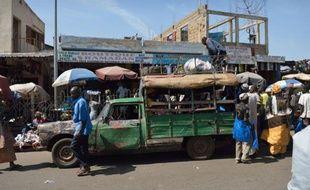 Scène de la vie quotidienne à Bamako, capitale du Mali, le 21 janvier 2013.
