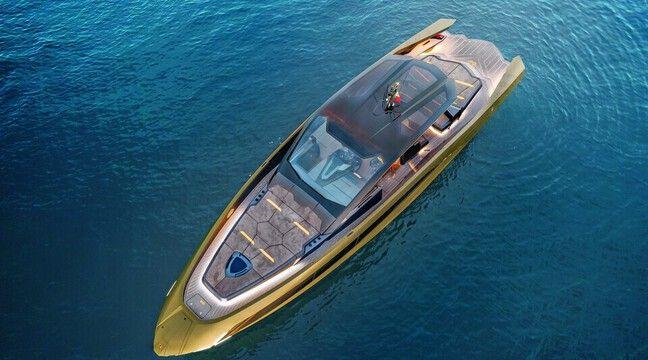 Lamborghini produit son premier…bateau !