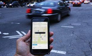 L'application Uber est la cible de nombreuses polémiques.