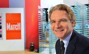 Olivier Royant, ici en 2013, a été le directeur de la rédaction de Paris-Match de juillet 2006 à sa mort le 31 décembre 2020.