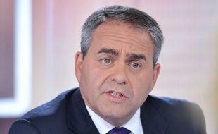 Xavier Bertrand, chef de file UMP aux régionales 2015