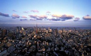 Vue de la capitale japonaise, Tokyo.