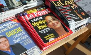 Illustration, Le Point en kiosque