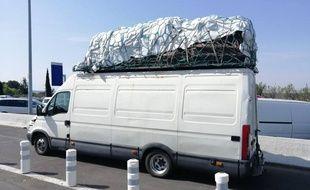 Le fourgon intercepté à proximité de Sète était en surcharge de 9 tonnes.