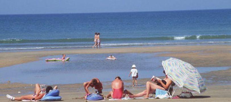 Une plage de l'île d'Oléron.