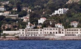 La villa du roi d'Arabie saoudite à Vallauris.