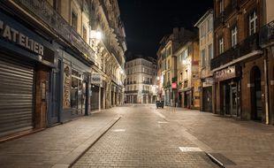 De 21h à 6h, Toulouse va ressembler à ça. Illustration.