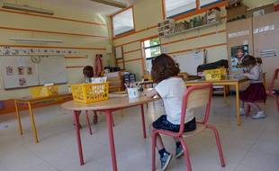 Une école primaire (image d'illustration) ISA HARSIN/SIPA