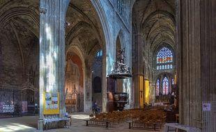 Sept sculptures précieuses ont été volées en 1984 dans la basilique Saint-Michel.