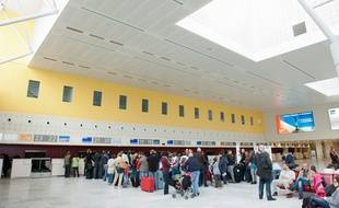 Merignac, 23 avril 2012. - Aeroport de Bordeaux Merignac. - Photo : Sebastien Ortola