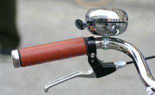 Un vélo. Illustration.