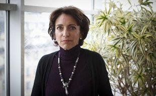 Marisol Touraine, ministre des Affaires sociales et de la Santé dans son bureau à Paris le 17 octobre 2012.