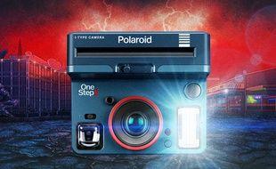L'appareil photo instantané OneStep2 aux couleurs de la série Stranger Things.