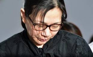 Cho Hyun-Ah au tribunal à Séoul le 22 mai 2015