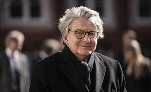 Le commissaire européen au Marché intérieur, Thierry Breton, à Copenhague le 18 mars 2021.