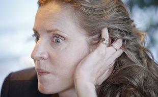 Paris le 08 octobre 2013. Portrait de Nathalie Kosciusko-Morizet (NKM) candidate UMP a la mairie de Paris.