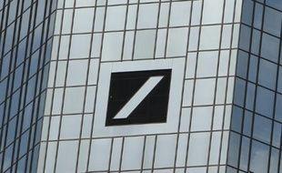 Le siège de la Deutsche Bank, le 9 juin 2015, à Francfort en Allemagne