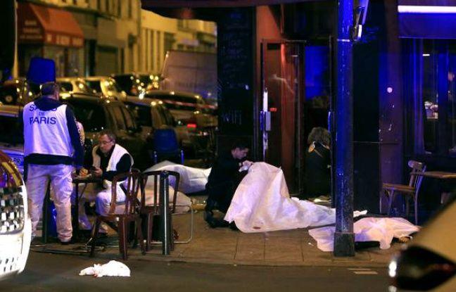 Attaques multiples à Paris