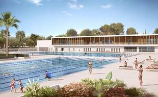 En octobre 2019, le stade nautique d'Antibes disposera de deux bassins de 50 m.