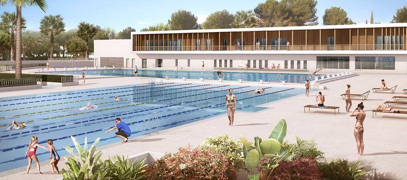 En octobre 2019, le stade nautique d'Antibes disposera de deux bassins de 50 m.