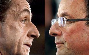 Une grande majorité de Français, 56%, déclarent en janvier préférer François Hollande et encore plus, 64%, François Bayrou, à Nicolas Sarkozy, selon un sondage Ifop pour Paris-Match rendu public mardi.