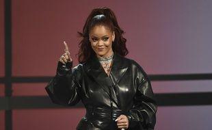 Rihanna a été vue à Paris en juillet.