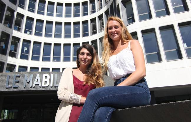 Pauline Cardot (à gauche) et Romane Leblond ont créé la start-up Mavalise, qui propose des voyages alternatifs.