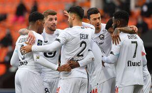 Lille s'est imposé dimanche à Lorient