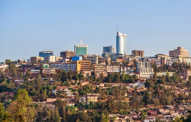 Une vue de Kigali, la capitale du Rwanda.