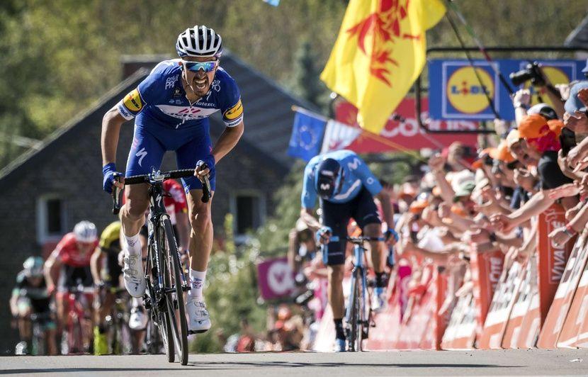 Flèche Wallonne: Comment la victoire d'Alaphilippe en 2018 a fait de lui une machine de guerre