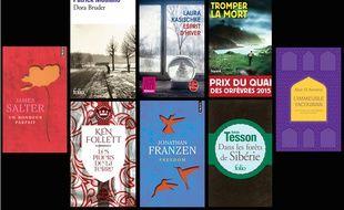Sélection de livres de poche pour Noël 2014.