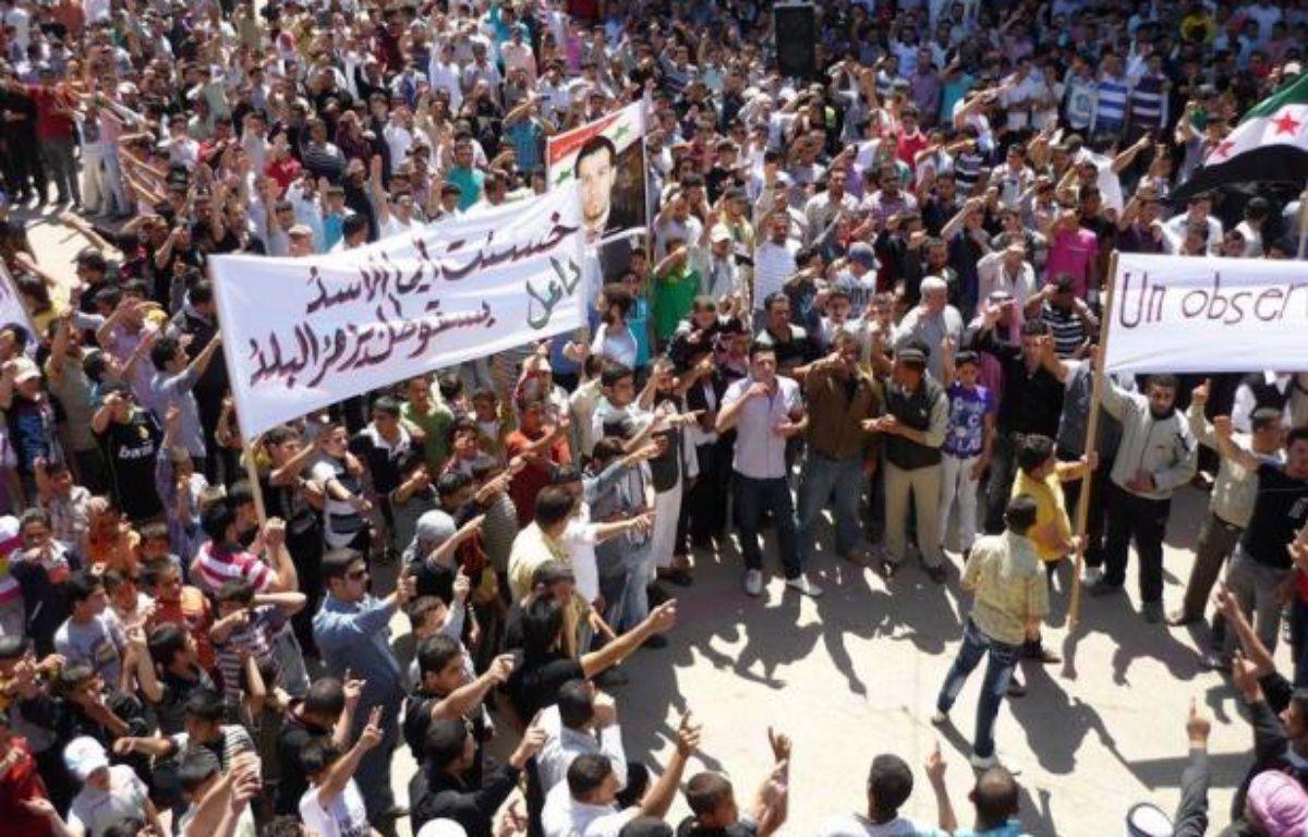 Le Conseil de sécurité des Nations unies a adopté samedi à l'unanimité une résolution autorisant l'envoi de 300 observateurs en Syrie pour surveiller un cessez-le-feu sérieusement compromis –  afp.com