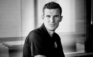 Romain Danzé, capitaine du Stade Rennais