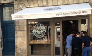 L'enseigne Bagelstein à Bordeaux.