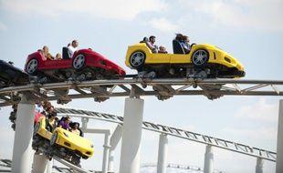 Le Ferrari World ouvre ses portes à Abou Dhabi le jeudi 4 novembre 2010.
