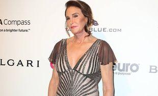 Caitlyn Jenner lors de la soirée post-Oscars organisée par Elton John