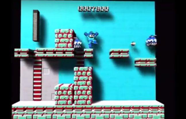 «Megaman» en 3D grâce à un émulateur.