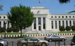 La banque centrale américaine (Fed), à Washington, le 1er août 2015