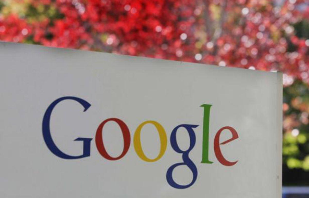 Le logo de Google, la firme de Mountain View. – Paul Sakuma/AP/SIPA