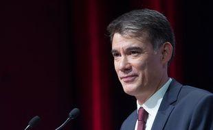 Le nouveau secrétaire du Parti Socialiste, Olivier Faure.