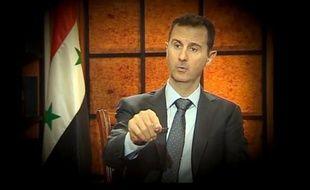 """Le président syrien Bachar al-Assad, confronté à une rébellion depuis deux ans, a averti qu'une chute de son régime aurait un """"effet domino"""" au Moyen-Orient et déstabiliserait cette région """"pendant de longues années"""", tandis que le dossier syrien va être au centre d'un ballet diplomatique en avril et mai à la Maison Blanche."""