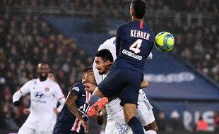 Kimpebe et Kehrer n'ont pas été exemplaires dimanche soir contre Lyon.